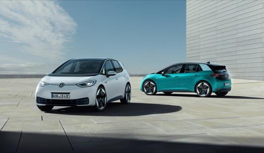 Elektromobil ID.3 se představí krátce po zahájení sériové výroby českému publiku