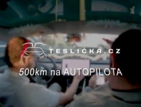 auto elektromobil Teslicka.cz Tesla Model 3 500 km na autopilota