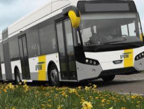 auto elektrický autobus plug-in hybrid sériový hybrid elektrobus VDL De Lijn Vlámsko