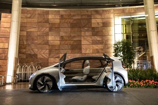 Koncept elektromobilu Audi AI:ME