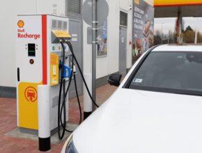 Spuštěna byla také první stanice nabízející vlastní službu Shell Recharge v regionu