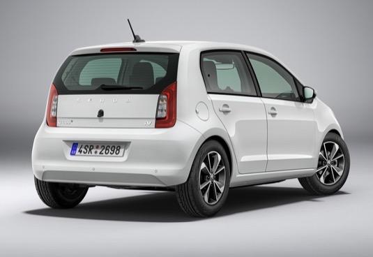 Elektromobil Škoda CitigoE iV