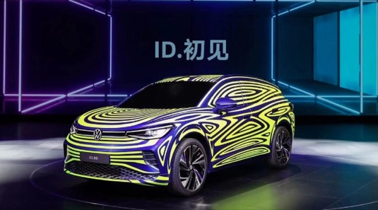 auto elektromobil Volkswagen ID.Next výroba v Číně