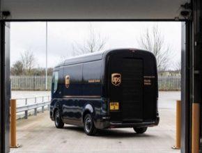 auto elektromobil Arrival UPS