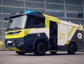 auto požární hasičský vůz Rosenbauer CFT