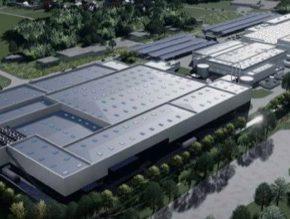 továrna na výrobu baterií Saft a PSA