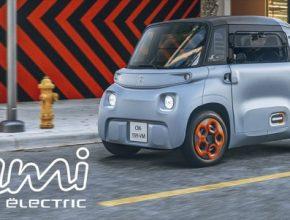auto elektromobil Citroën AMI 100% Ëlectric