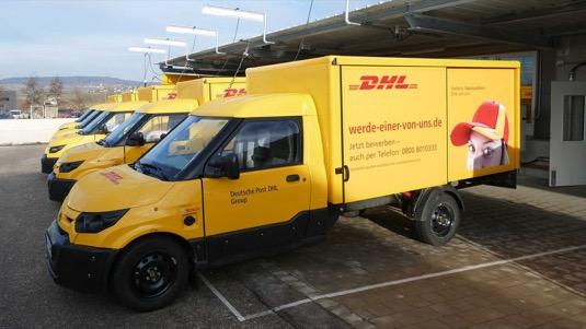 auto elektromobily flotila konec výroby StreetScooter DHL Deutsche Post