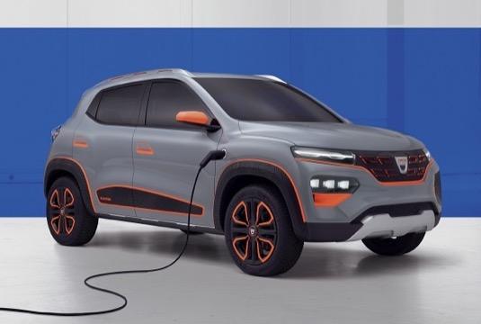 auto elektromobil Dacia Spring
