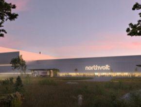 Budoucí podoba velkotovárny na baterie společnosti Northvolt