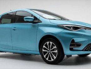 auto elektromobil nový Renault Zoe