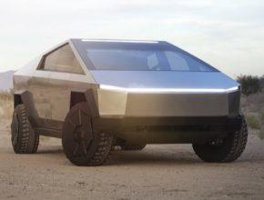 auto elektromobil pick-up Tesla Cybertruck