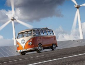 Speciální divize Volkswagen eClassics bude nabízet přestavby pro T1 i kompletní vozidla T1 ve stylu studie e-BULLI