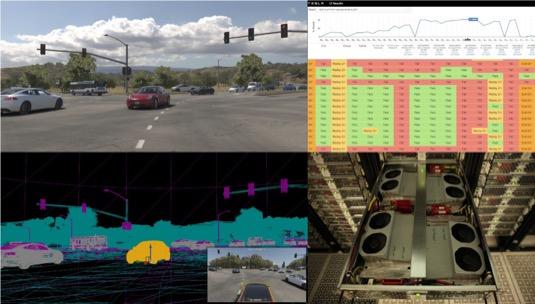 Systém autonomního řízení Tesla Autopilot se skládá z mnoha různých součástí, ať už softwarových nebo hardwarových