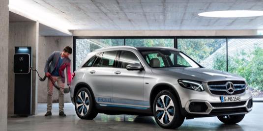 auto na vodík Mercedes-Benz GLC F-Cell
