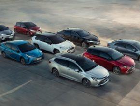 auto Toyota hybridy hybridní auta