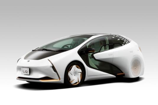auto elektromobil Toyota LQ