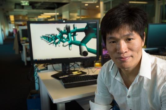 Haifei Zhan, hlavní výzkumník projektu