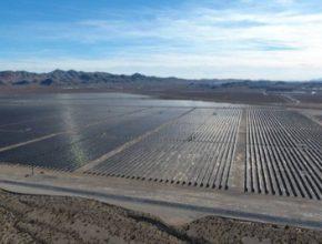 solární elektrárna fotovoltaika Nevada