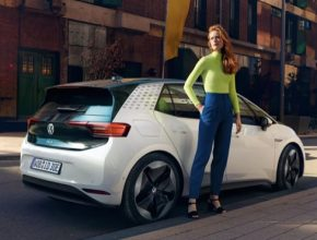 auto elektromobil Volkswagen ID.3 šrotovné 2.0 Německo