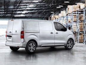 auto elektromobil elektrická dodávka Peugeot e-Expert