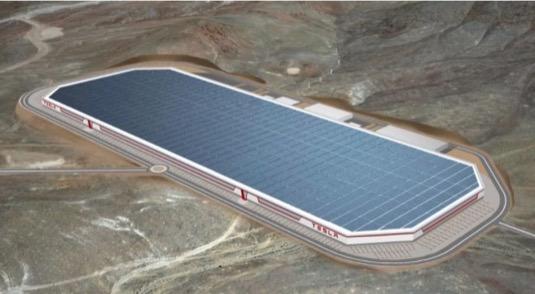 Tesla Gigatovárna Gigafactory Terafactory Austin Texas Teratovárna továrna
