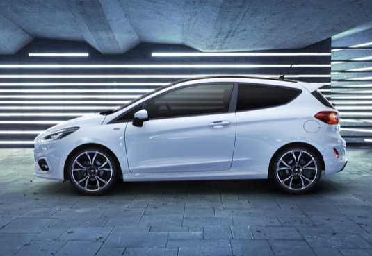 Ford Fiesta mild-hybrid