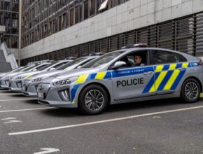 auto elektromobily policie ČR Hyundai Ioniq Electric