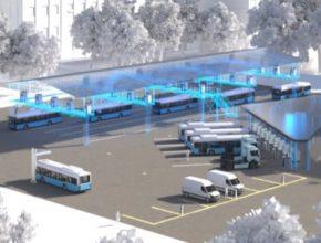 Siemens nainstaluje v Lipsku sstémy pro příležitostné dobíjení v depu. Dobíjení bude možné 100 kW a 450 kW přes pantograf na střeše autobusu a přes dobíjecí konzoli na stojanu.