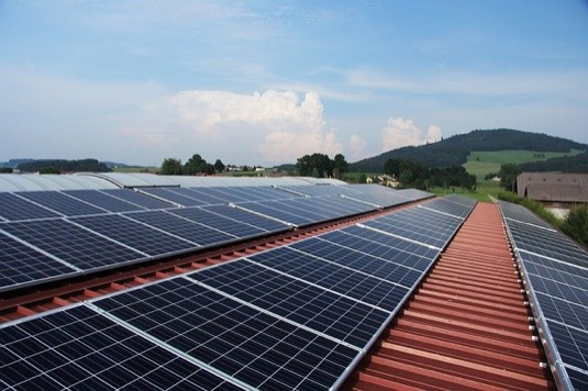 solární panely fotovoltaická elektrárna