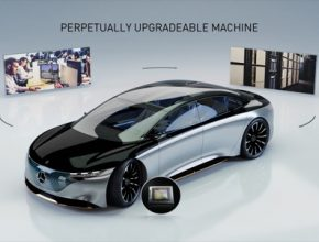 auto Mercedes-Benz Nvidia robotické řízení