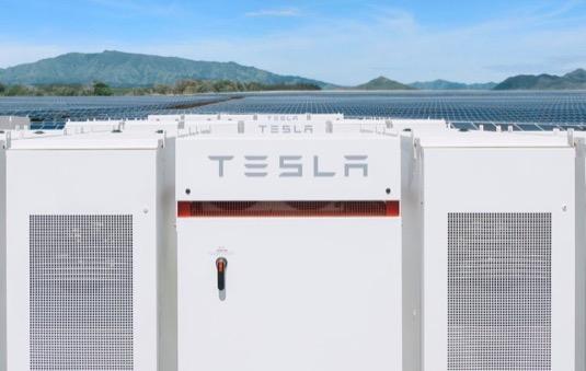 Tesla Battery Day Megapack 2020