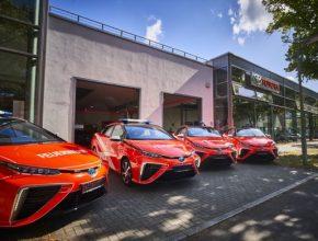 auto hasiči Německo Toyota Mirai auto na vodík