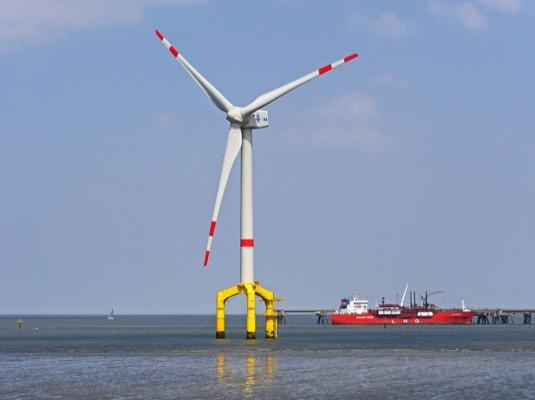 Podle odhadů činí potenciál plovoucí větrné energie v Evropě, USA a v Japonsku kolem 7 000 GW.