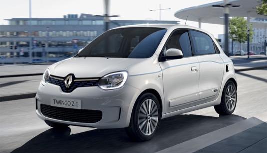 auto elektromobil Renault Twingo Z.E: