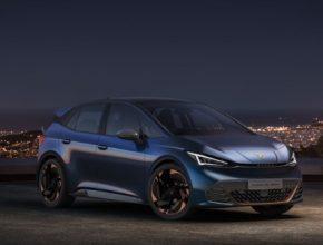 Elektromobil Cupra el-Born nabídne dojezd až 500 km díky sadě akumulátorů o využitelné kapacitě 77 kWh (celková 82 kWh).