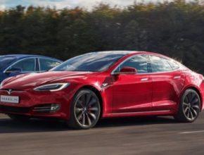 auto elektromobil Tesla Model S