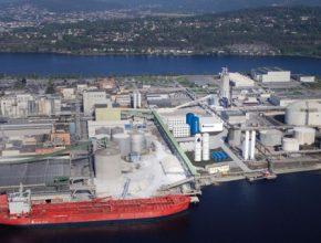 Výrobna zeleného leteckého paliva vyroste v průmyslové zóně na poloostrově Herøya