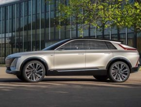auto elektromobily Cadillac Lyriq