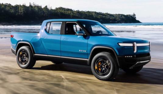 auto elektromobily Rivian R1T