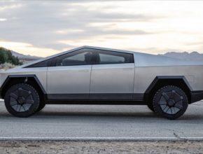auto Tesla Cybertruck elektromobil