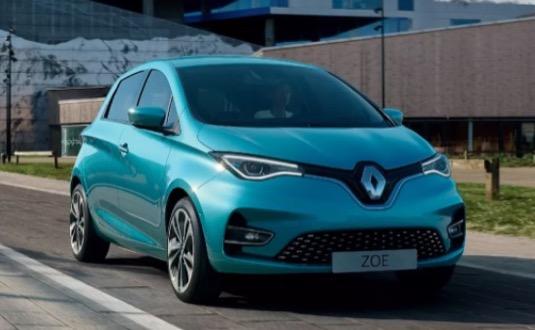 auto elektromobil nový Renault Zoe modernizace