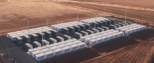 Tesla baterie Austrálie Hornsdale