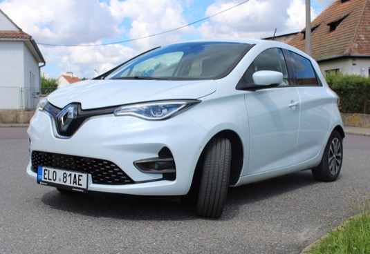 auto elektromobil test Renault Zoe 2020