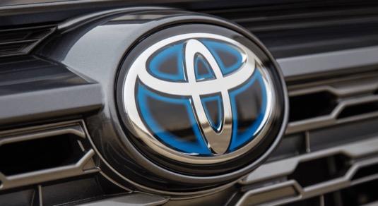 auto Toyota logo vývoj baterií fluor-iontové