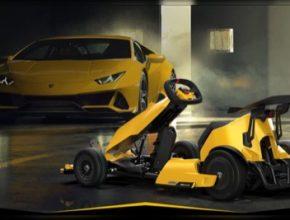 motokára Xiaomi Ninebot GoKart Pro Lamborghini Edition