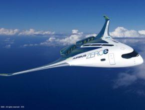 vodíkové letadlo Airbus ZEROe