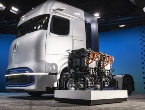 vodíkový kamion Daimler