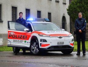 Elektromobily Hyundai používají policisté napříč Evropou, mimo České republiky také ve Švýcarsku, Nizozemí, Španělsku, Velké Británii, Německu a Itálii.