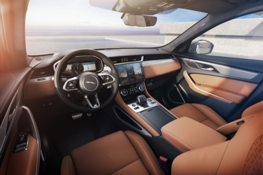 Nový Jaguar F-Pace